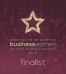 Logo of Scottish Business Womens Awards Winner 2018