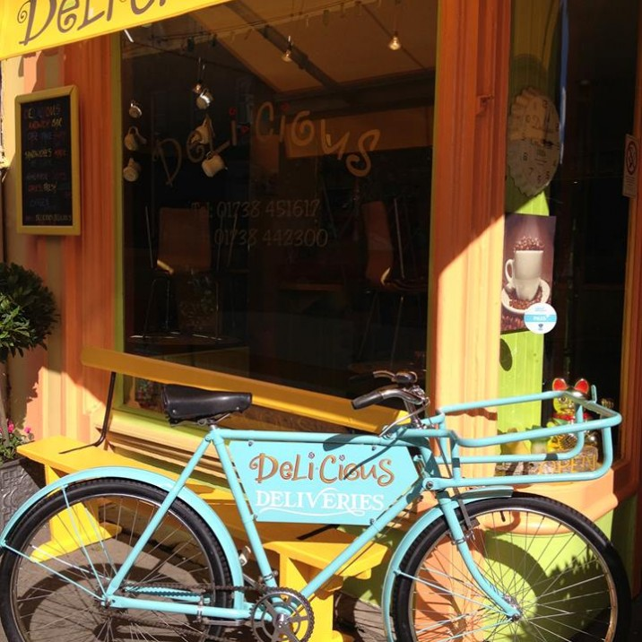 Delicious is Perth's favourite and most popular, quirky sandwich bar/cafe in town and run by a husband and wife team.