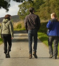 The wonderful Stride for Life walks can be found weekly throughout Perthshire and this Tuesday walk is a great way to explore a bit of Crieff with other people in the area.