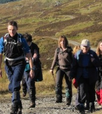 The wonderful Stride for Life walks can be found weekly throughout Perthshire and this Wednesday walk is a great way to explore a bit of Birnam with other people in the area.