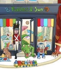 This is a gorgeous children's shop situated in the heart of Pitlochry.