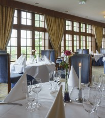 The award winning food served at Murrayshall Hotel is well worth a visit!