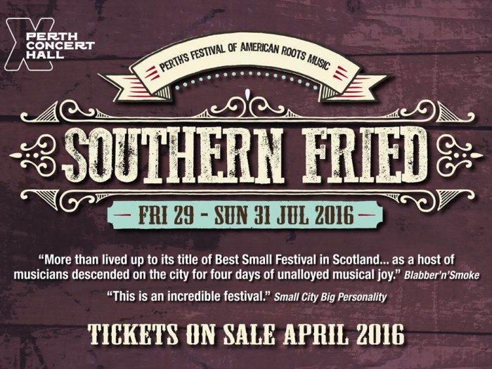 Southern Fried 2017 takes place from Thursday 27th - Sun 30th July.
