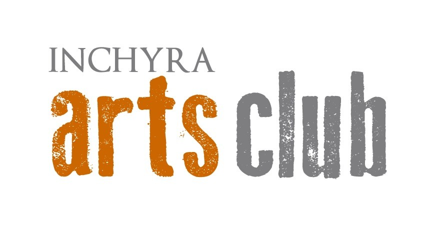 INCHYRA ARTS LOGO - WHITE