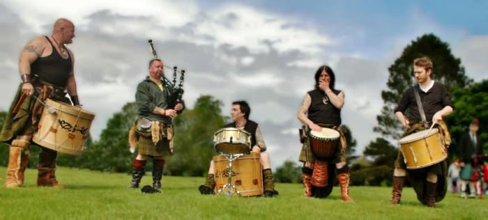 Scotland's leading tribal band!