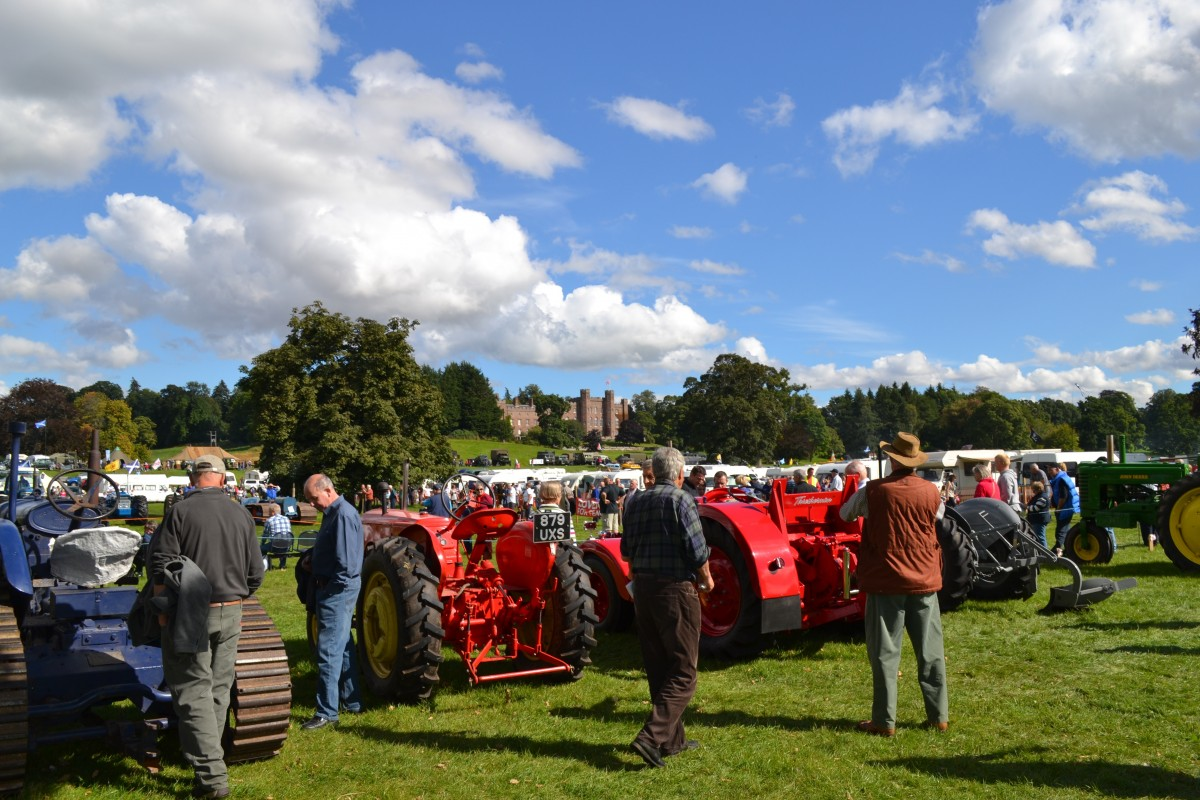 The Scottish Vintage Tractor and Engine Club Farming Yesteryear and Vintage Rally 2018 will be on Sunday 9th September.