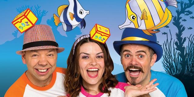 FUNBOX, formerly the stars of the Singing Kettle, will be performing their brand new show Underwater Adventure.