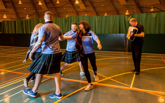 Live Active Ceilidh Classes - Kelly dancing