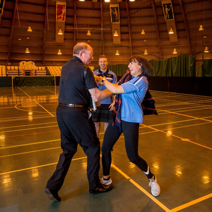 Live Active Ceilidh Classes - Kelly and Bernie