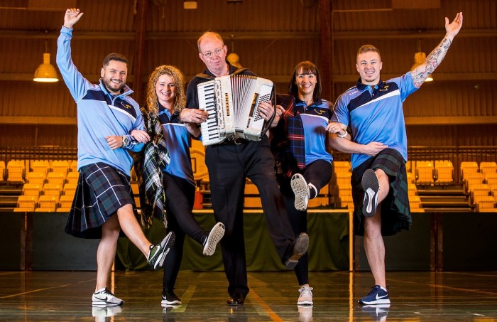 Live Active Ceilidh Classes - Group shot