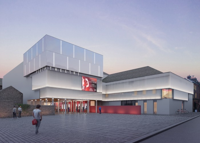 Perth Theatre Revamp - Architects impression