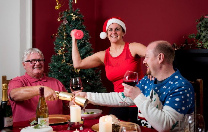Live Active Fit for Festive - Tracey dumbbell