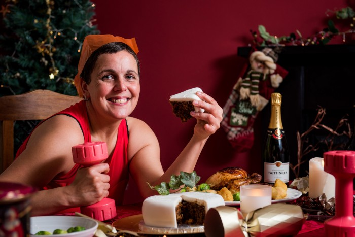 Live Active Fit for Festive - Tracey cake