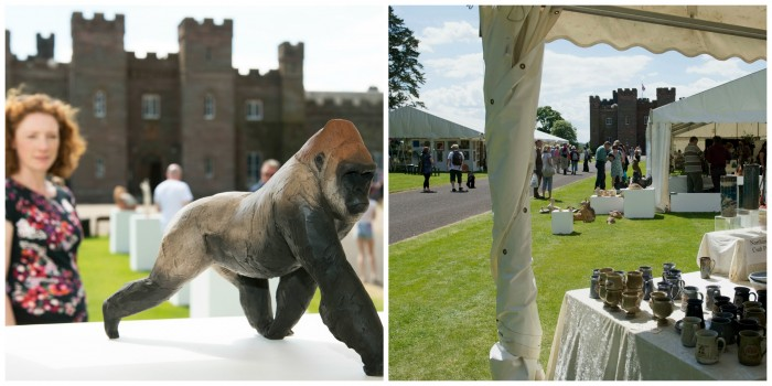 Over 70 potters and ceramic sculptors working from small studios all over the UK and across Europe will be selling their work here at Scone Palace.