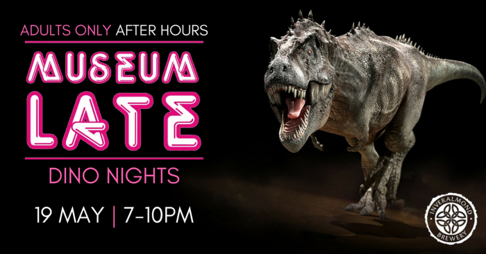 Enjoy after-hours at Perth Museum and Art Gallery for this fun adults only special Jurassic themed event.