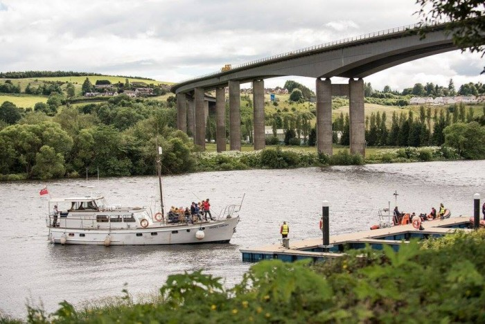 From May until October 2018 discover the River Tay in Perth with a range of fantastic boat trips.