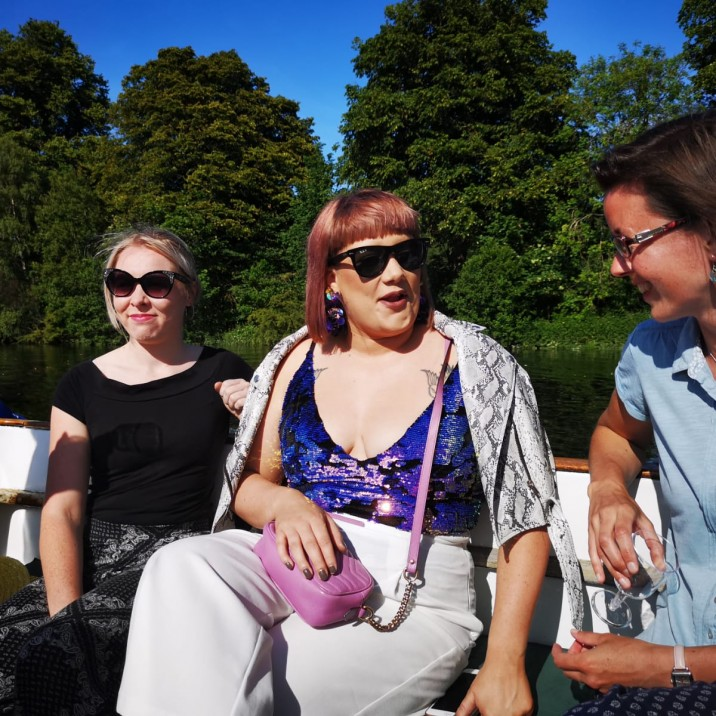 Team Small City discuss this weeks Small City features whilst Boating on Tay