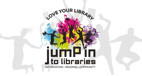 Jump In To Libraries aims to place libraries at the heart of the community and you can visit your local library to get involved!