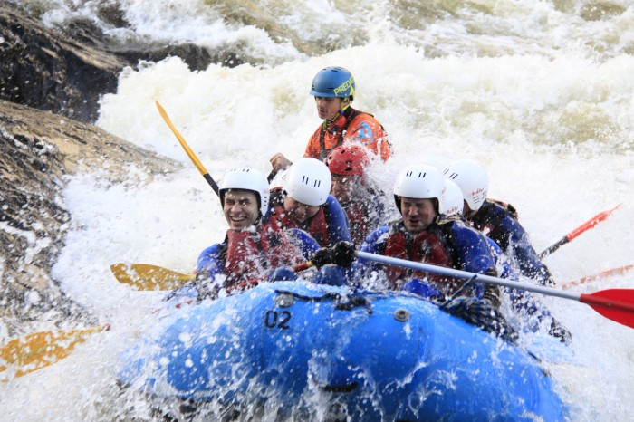 White Water Rafting followed by a Whisky Connoisseur Tour…and that right there is a braw day oot in Highland Perthshire!