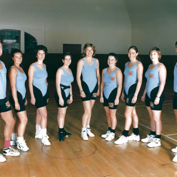 The fitness experts of the nineties were a stylish crew!