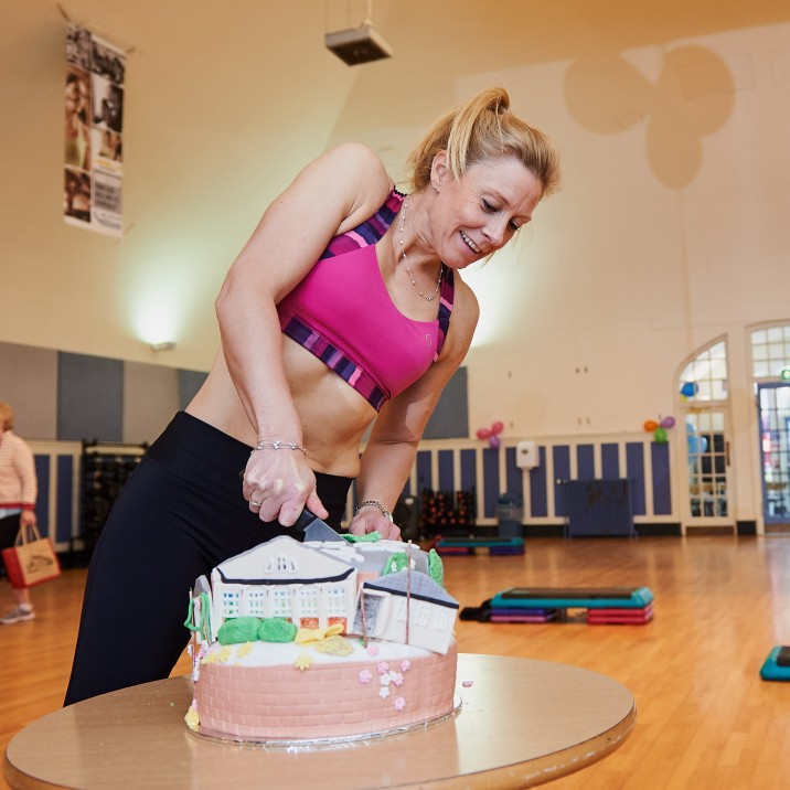 Everything is a balance! Fitness and cake are our new favourite pairing.