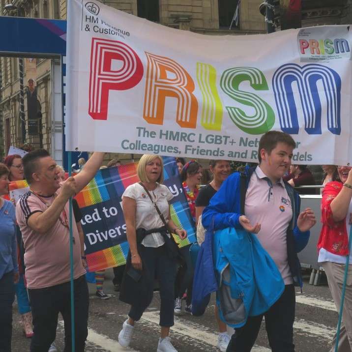 Who knew tax could be so colourful!? #PRISM at Perthshire Pride 2019