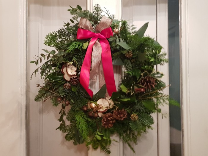 Wreath Workshop - Finished Wreath